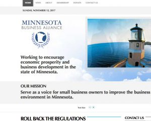 Redesigned MBA website picture
